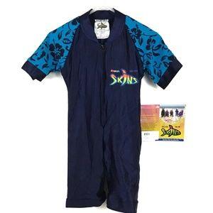 NWT Radicool Skins 1 piece Rash Guard Swim Boys 2T